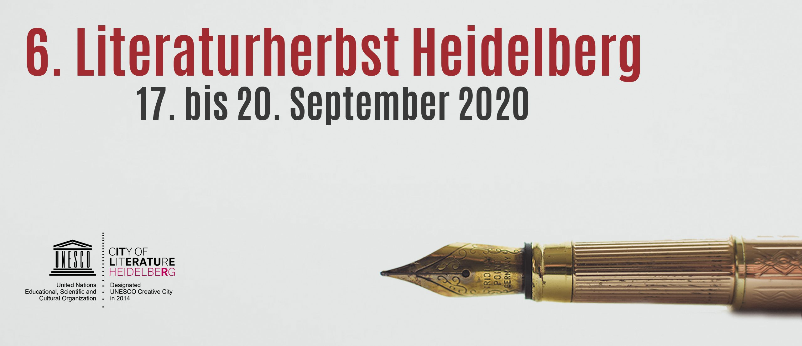 20. Literaturherbst 20 – Literaturherbst Heidelberg